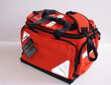 5107 Ferno Professional Trauma Bag, Red