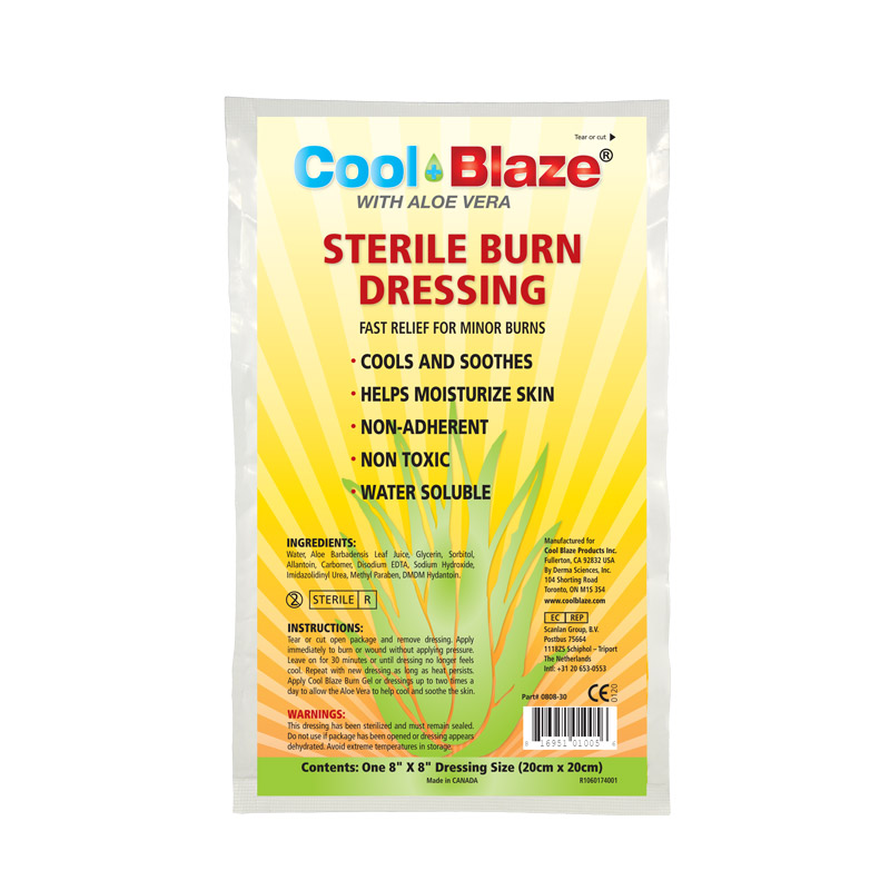 F5411100  - Cool Blaze 20 x 20cm Burn Dressing, Bulk