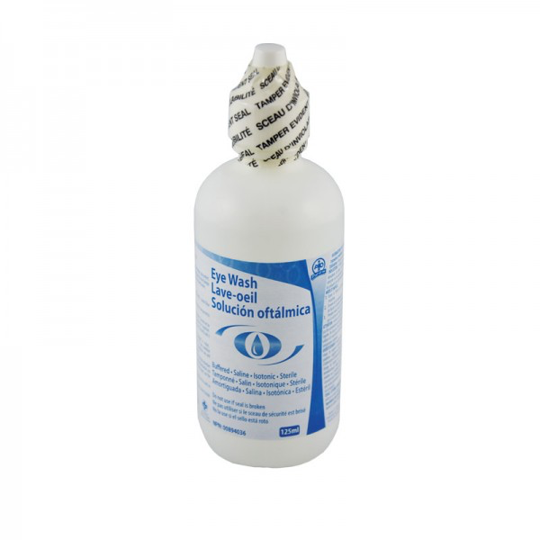 Eyewash Solution, 125ml - F4501160
