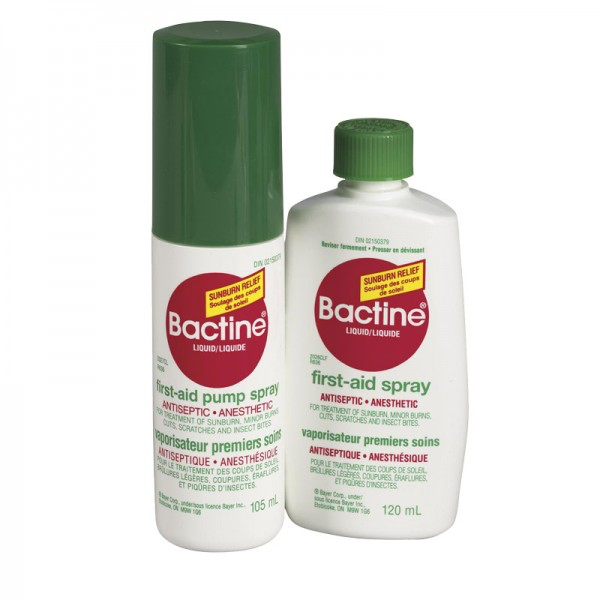Bactine Spray Pump, 105ml