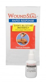 WOUNDSEAL RAPID RESPONSE POWDER TO STOP BLEEDING SIZE 4GM