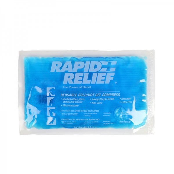 Reusable Hot/Cold Gel Compress with Form-Fit Gel, 12.5cm x 25cm