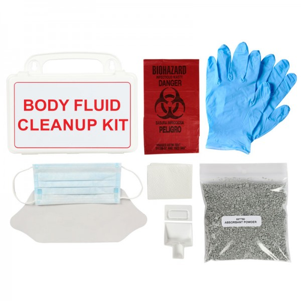 Bio-Hazard Body Fluid Clean Up Kit