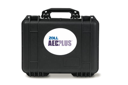 Small Pelican Case with AED Plus cut-cuts