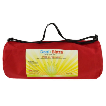 Cool Blaze Fire Blanket, 183  x  152cm, in Canvas Bag