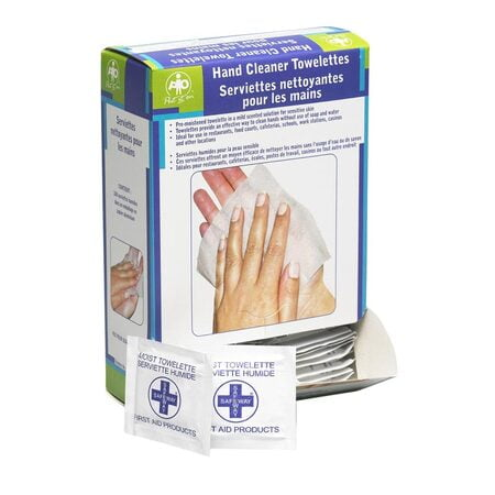 Hand Cleansing Towelettes, 100/BOX