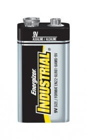 BATTERY ENERGIZER 9V