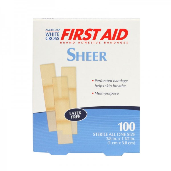 Plastic Mini Bandage, 4 x 1cm, 100/Box