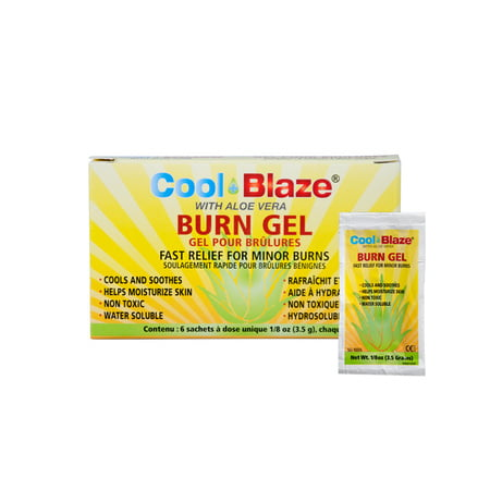 Cool Blaze 1/8oz  Gel Packet, 25/Box