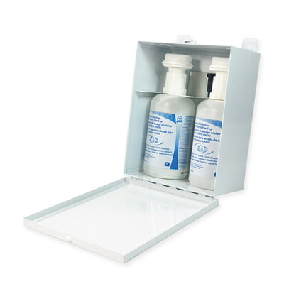 Replacement Eyewash Metal Cabinet with Mirror 2 x 1L (Cabinet only)